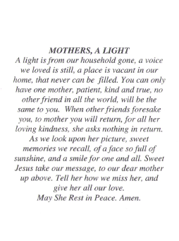 Mothers, A Light