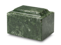 Meadow Green Synthetic Marble Urn