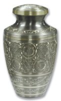 Platinum Engraved Urn
