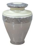 Silver Pearl Urn