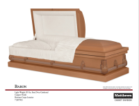 Baron Copper Casket $400.00