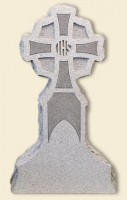 Cross Upright Gray Monument