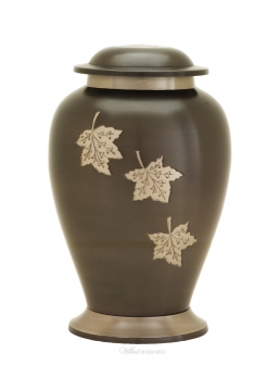 Avondale Russet Brown Brass Cremation