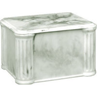 Z&A Cultured Marble Urns