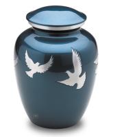 Flying Doves Urn