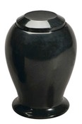 Midnight Marble Vase $295