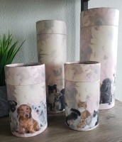 Scatter Tube Urns
