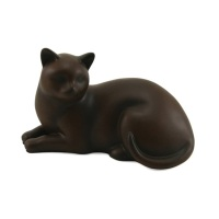 Cozy Cat Tabby Urn