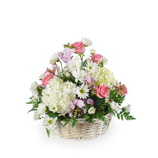 Monet's Garden Basket