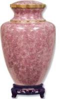 Cloisonne Rose Urn