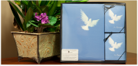 Dove Collection with Memorial Folders