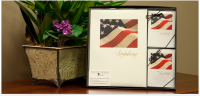 Flag Collection with Memorial Folders