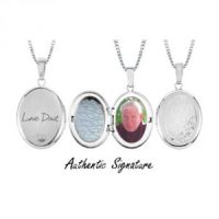 Oval Locket - Silver