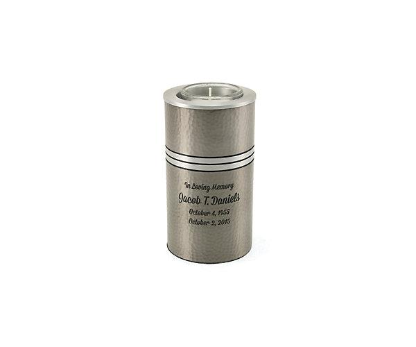 Legacy Metallics Silver Votive Keepsake (5298V)