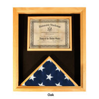 Flag Case with Document Holder