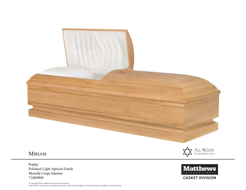 All Wood Caskets | Black's Funeral Home | Thurmont, MD Funeral Home