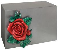 Pewter Bronze Horizontal Urn by Batesville