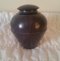 Purple Stone Urn