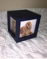 Navy Photo Cube