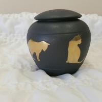 Slate Cat Urn