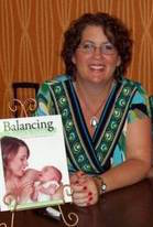 Amy Peterson lactation expert and co-author of Balancing the Breast and the Bottle
