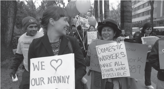 Love your nanny- domestic workers make all other work possible