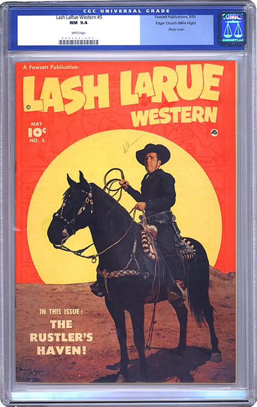 Lash Larue Western 5 Comic Book Gallery Image