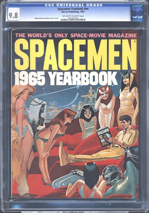 Spacemen Yearbook Nn Comic Book Gallery Image