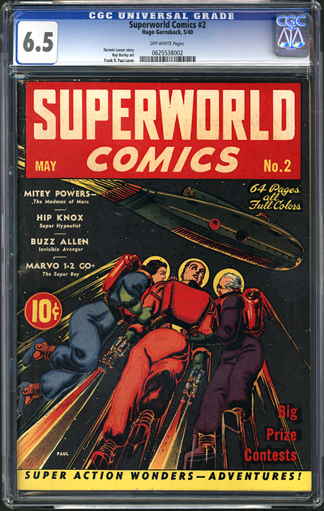 superworld comics 2 comic book gallery image