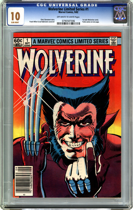 dbeb6008c94 Wolverine Limited Series #1 Comic Book Gallery Image