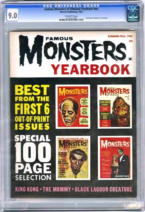 Famous Monsters Of Filmland Yearbook Nn Comic Book Gallery Image