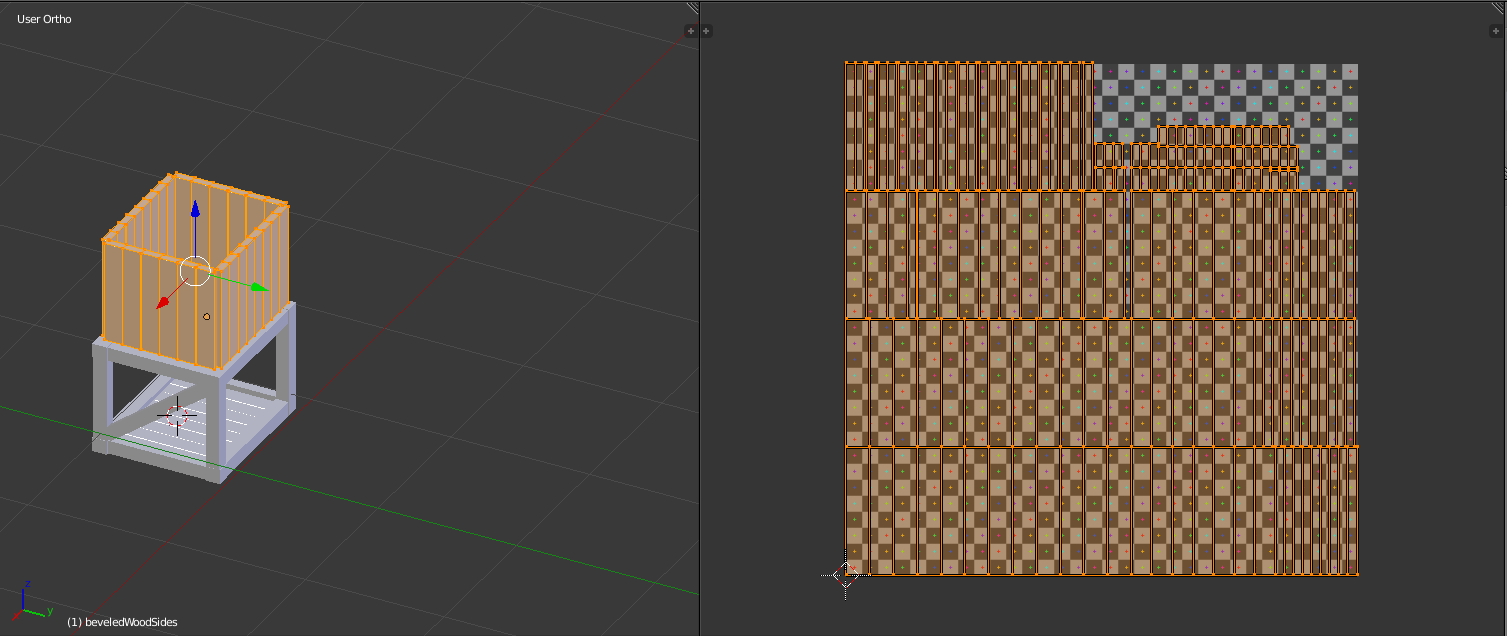 cg cookie how to either pack these uvs with the correct