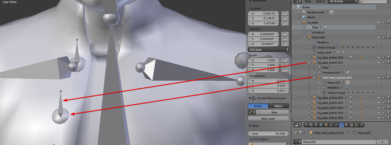 CG Cookie - Question on rigging ridged objects attached to