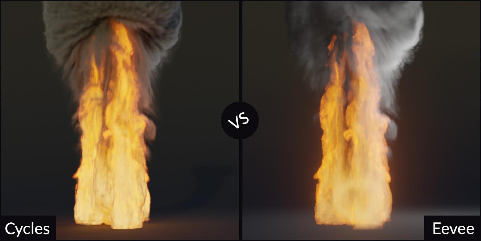 Blender Cycles vs  Eevee - 15 Limitations of Real Time Rendering in