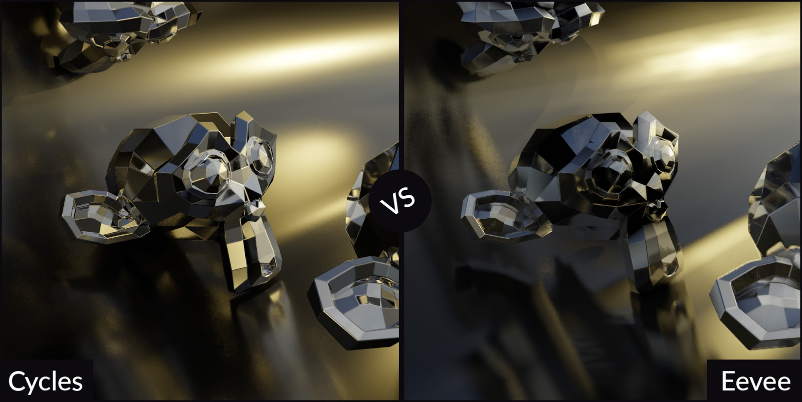 Blender Cycles vs  Eevee - 15 Limitations of Real Time Rendering in