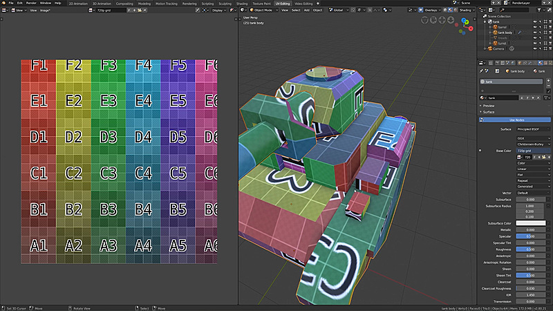 Creating Mini Tanks for a Mobile Game with Blender 2 8 - CG