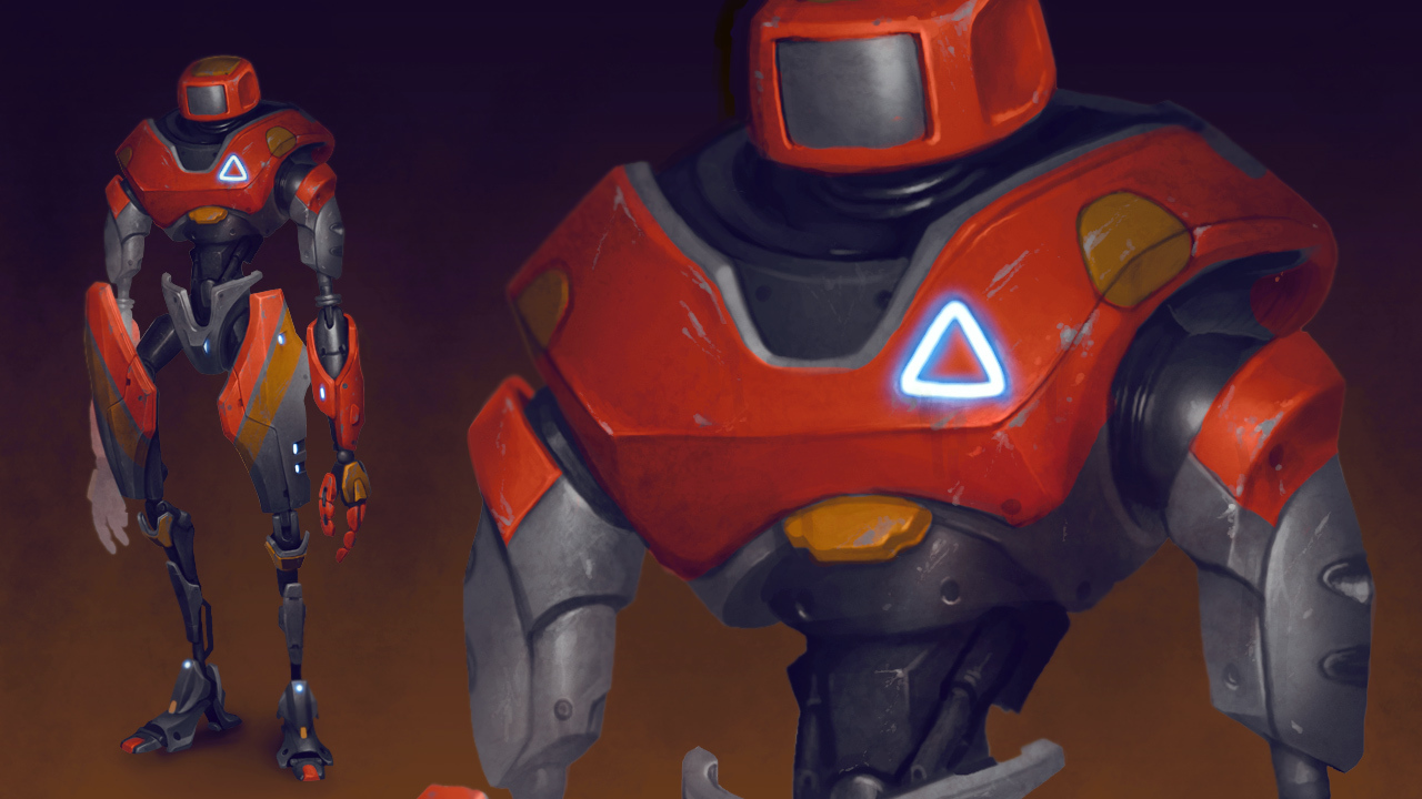 Building Robot Concept Art Cg Cookie