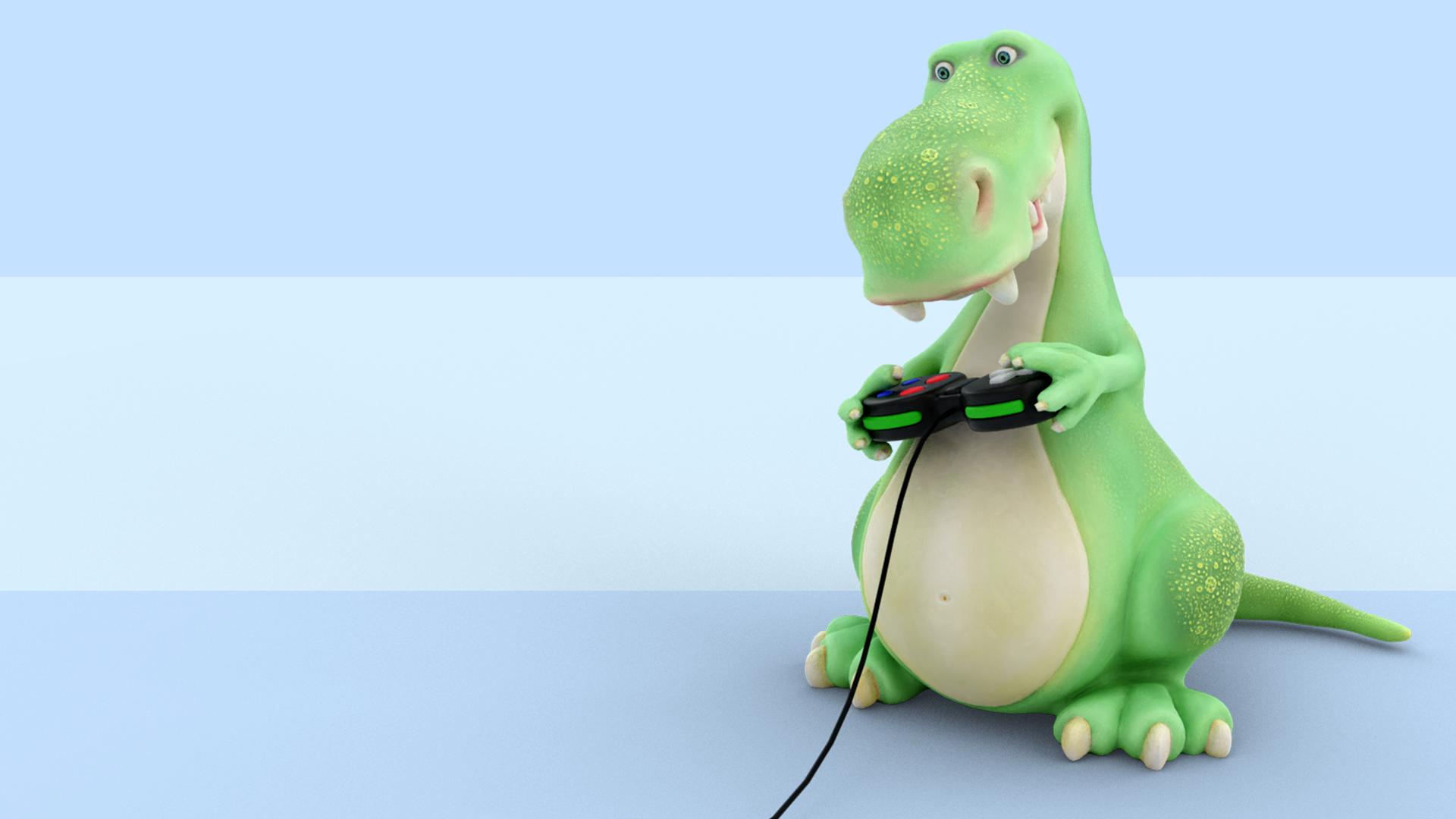 """Dinosaur Character"""