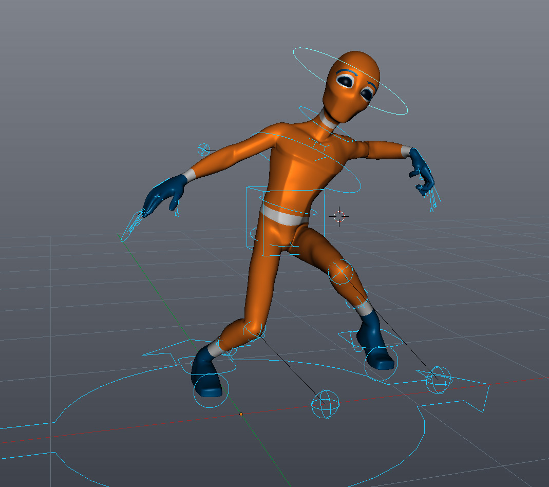 Introduction To Character Modeling In Blender Free Download : Quick rigging with rigify cg cookie