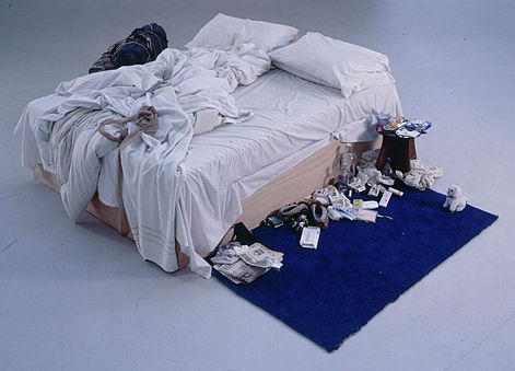 """My Bed"" by Tracey Emin"