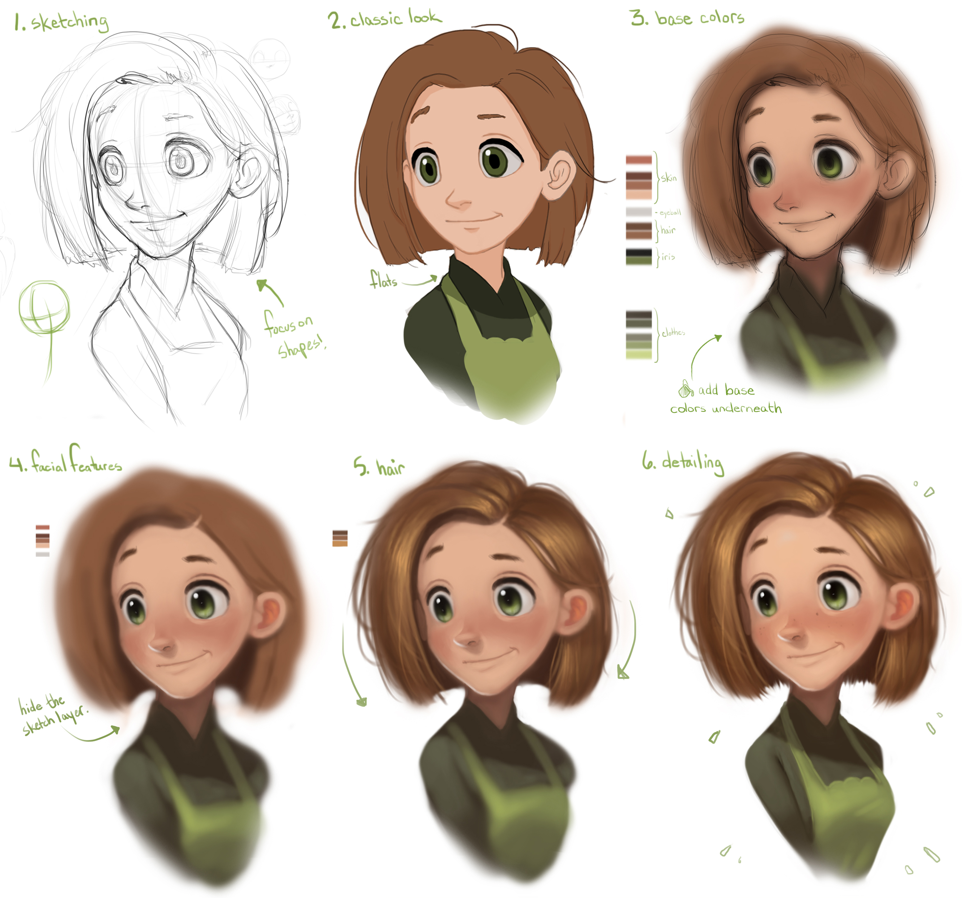 Animated Character Portrait Cg Cookie