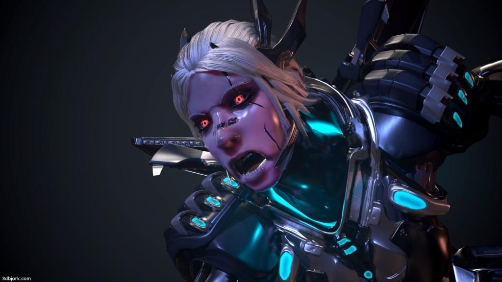 Alexander's cyborg Valkyrie