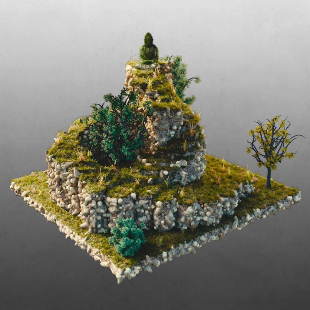 """""""Buddha's Spiral Garden"""""""