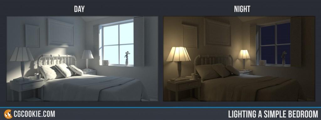 Lighting A Simple Bedroom