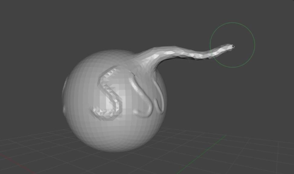 Snake Hook Brush_Blender