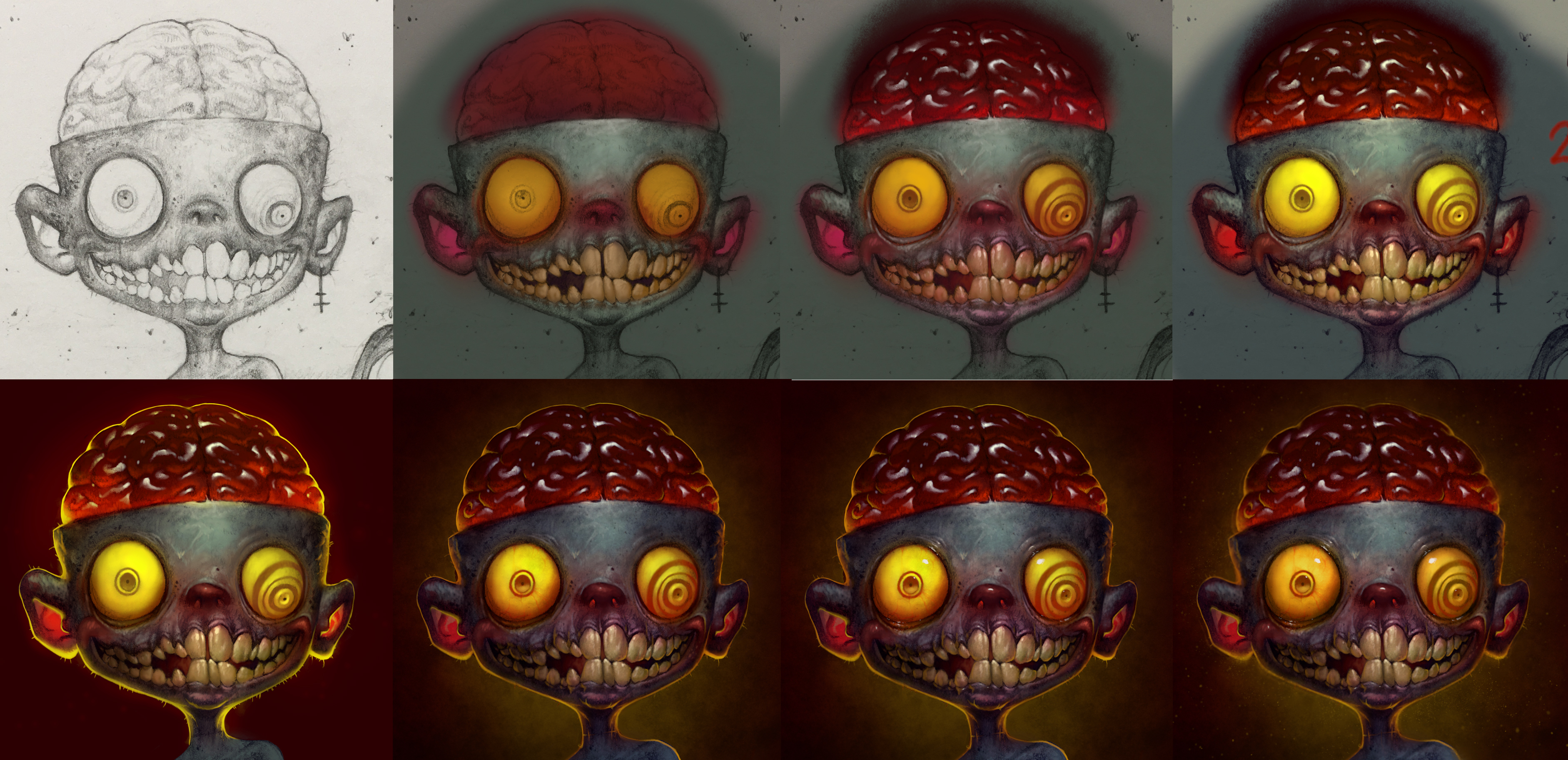 Photoshop File: Zombie Boy - CG Cookie