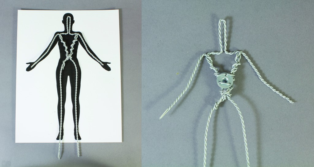 Creating your armature over a silhouette ensures that it will fit within the confines of your sculpt.