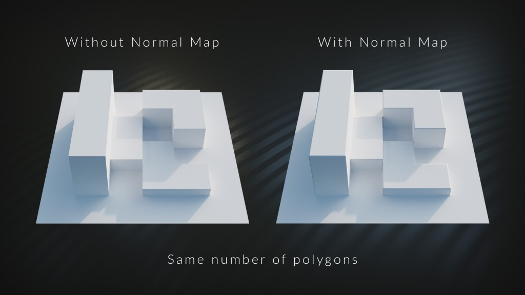 Height Maps Vs  Normal Maps - CG Cookie