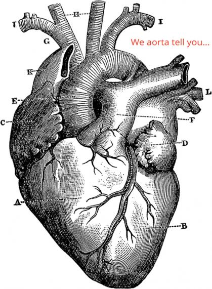 We aorta tell you...