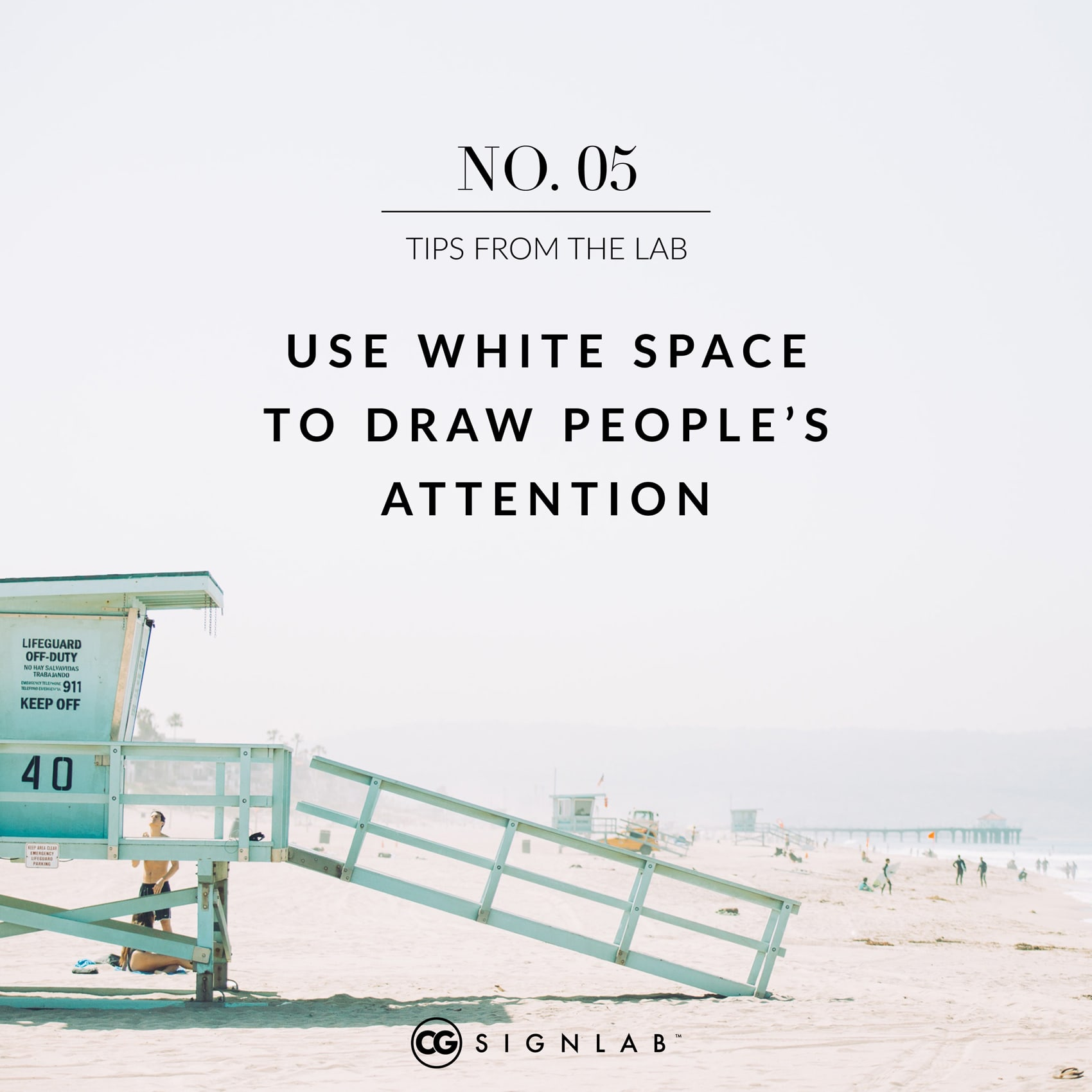 Use White Space to Draw People's Attention